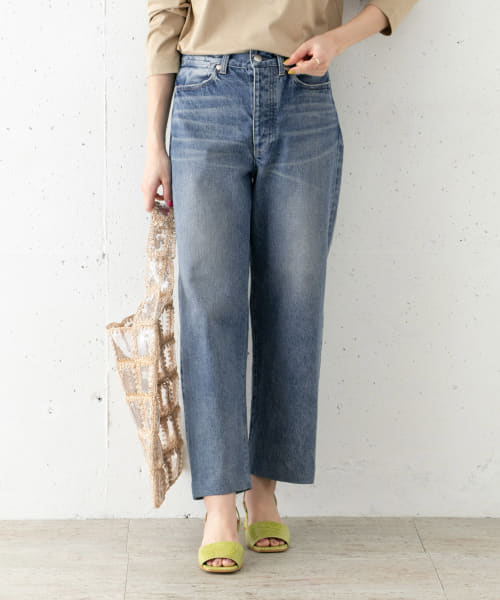 [ROSSO][TANAKA DAD JEAN TROUSERS]