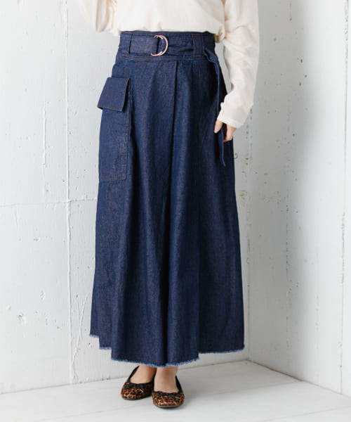 [Sonny Label][Moname FLARE SKIRT]