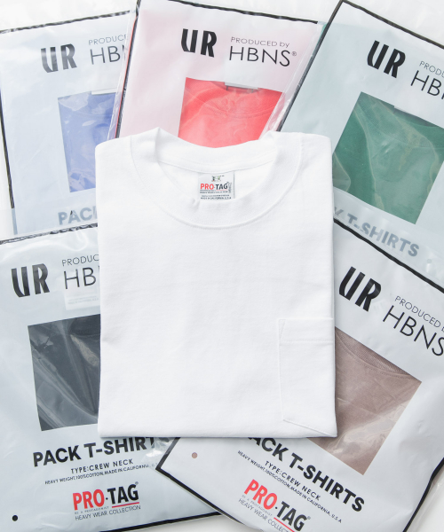 [URBAN RESEARCH][HABANOS×URBAN RESEARCH 別注PRO-TAG T-SHIRTS]