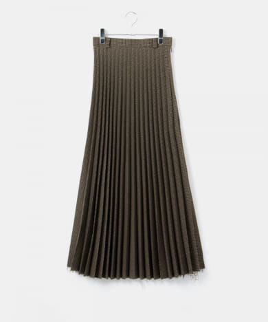 FUMIE=TANAKA old pleats skirt