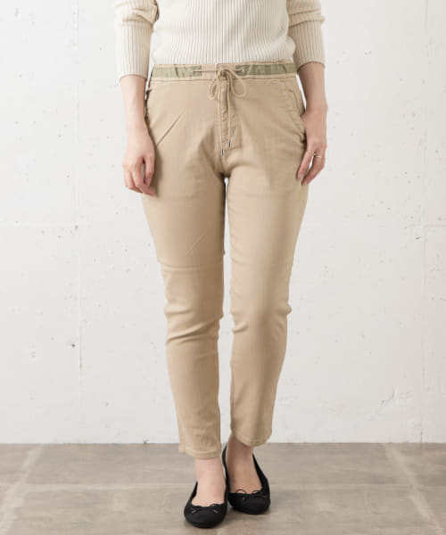 [Sonny Label][Moname EASY TAPERED PANTS]