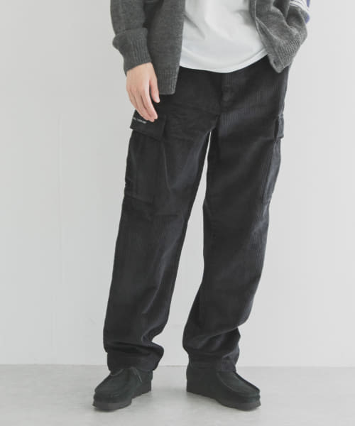 [URBAN RESEARCH][POP TRADING COMPANY CORDUROY CARGO PANTS]