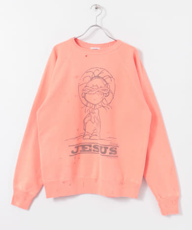【WEB限定】SAINT MICHAEL RAGLAN SWEAT SHIRTS
