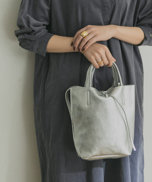 [URBAN RESEARCH][AULENTTI LEATHER M TOTE]