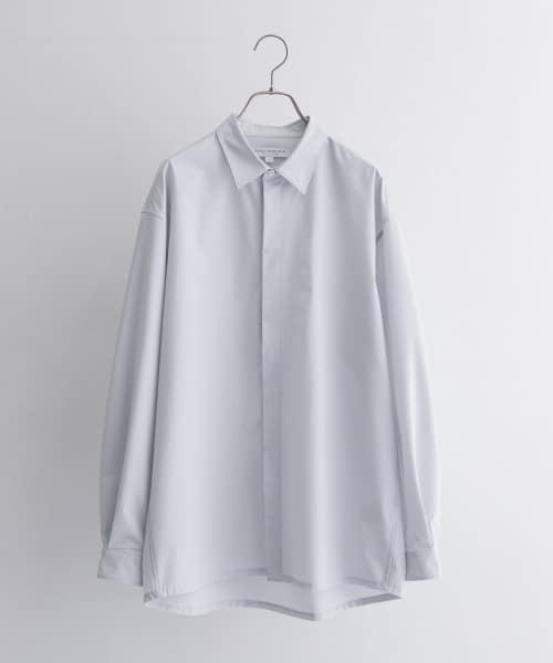 [URBAN RESEARCH][Solotex Fly Front SHIRTS]