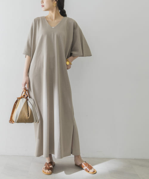 [URBAN RESEARCH][Goodwear LOOSE FIT MAXI ONE-PIECE]