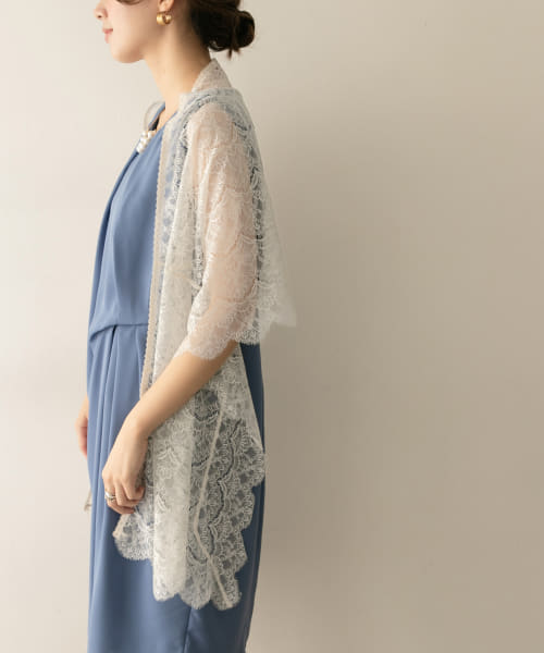 [URBAN RESEARCH][COUTURE MAISON 3WAYレースショール]