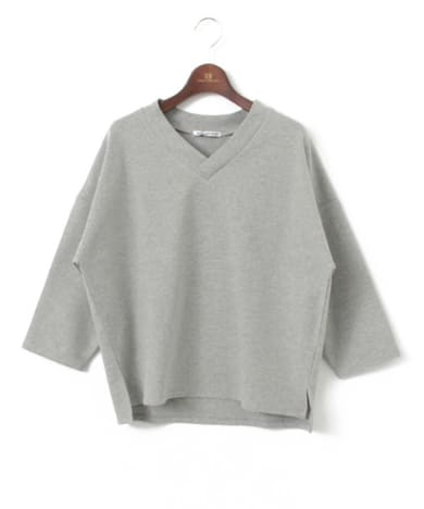 URBAN RESEARCH(アーバンリサーチ) WORK NOT WORK 3/4 SLEEVES V NECK PULLOVER