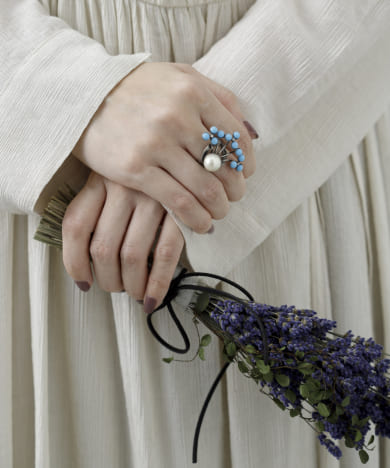ADER.bijoux FILIGREE bouquet ring