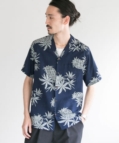 TWO PALMS×URBAN RESEARCH  別注aloha shirts