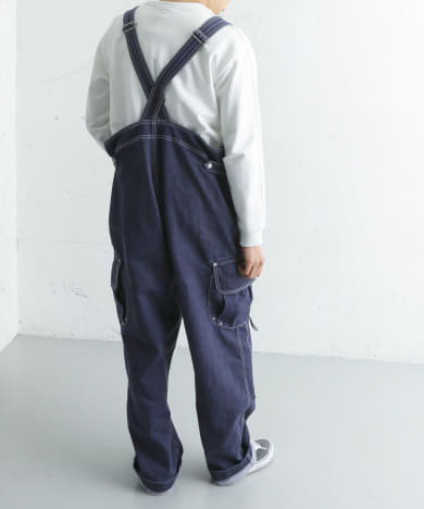 snow peak apparel×DOORS 別注Indigo TAKIBI Overall