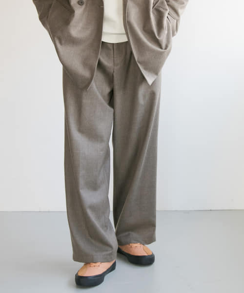 [URBAN RESEARCH][WELLDER Two Tack Wide Trousers]