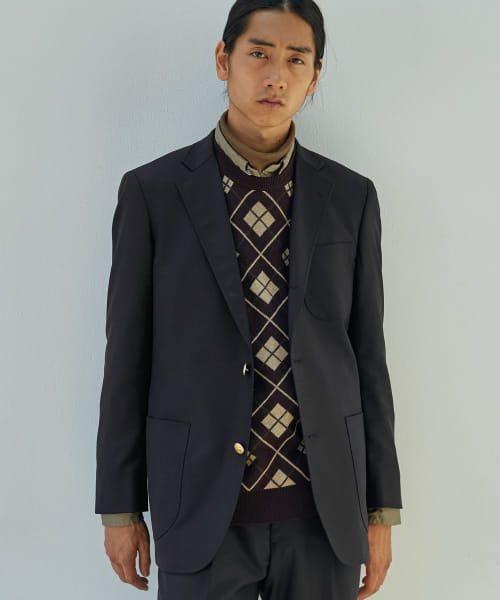 [URBAN RESEARCH][BROOKS BROTHERS×UR REGENT FIT SACK 3B JACKET]