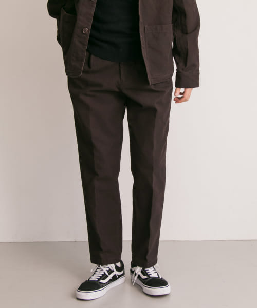 [FREEMANS SPORTING CLUB][FREEMANS SPORTING CLUB US DUCK ONE TUCK PANTS]