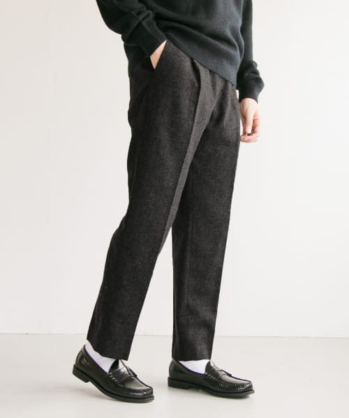 [URBAN RESEARCH][尾州WOOL TWEED TROUSER]