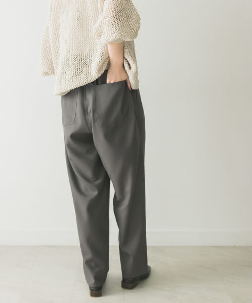 [URBAN RESEARCH][YLEVE WOOL TROPICAL EASY TR]