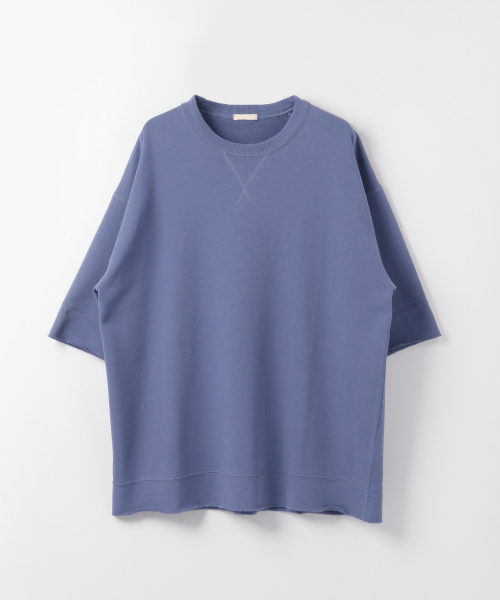 [URBAN RESEARCH][ULTERIOR DRY FEEL SOFT TERRY HALF-SLEEVE T-SHIRTS]