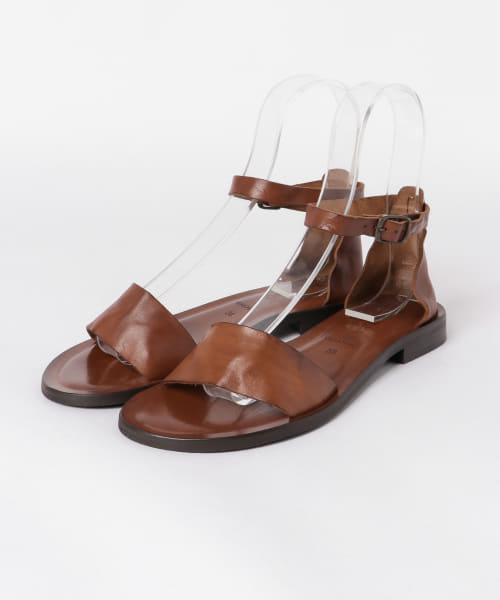 [かぐれ][CORSO ROMA, 9 washed leather sandals]