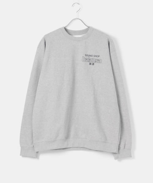 [URBS][【URBS限定】SOUND SHOP BALANSA 別注 浪速 SWEATSHIRTS]