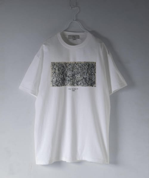 [ROSSO][Jackson Pollock T-shirts (A)]