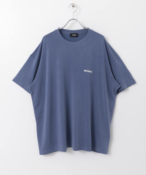 [ROSSO][WE11DONE OVERSIZED T-SHIRTS]