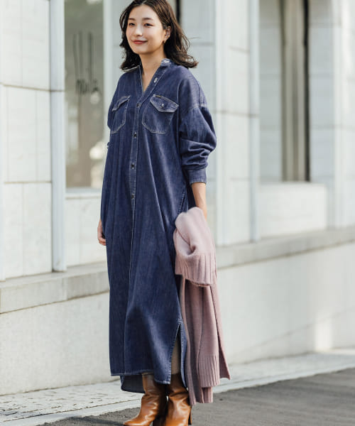 [ROSSO][【別注】ROSSO×Lee LONG WORK DRESS]