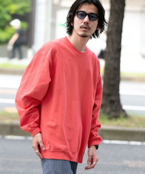 [Sonny Label][【別注】STAR&STRIPE×Sonny Label CREW FRENCH TERRY]
