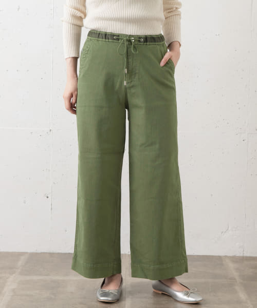 [Sonny Label][Moname EASY WIDE PANTS]