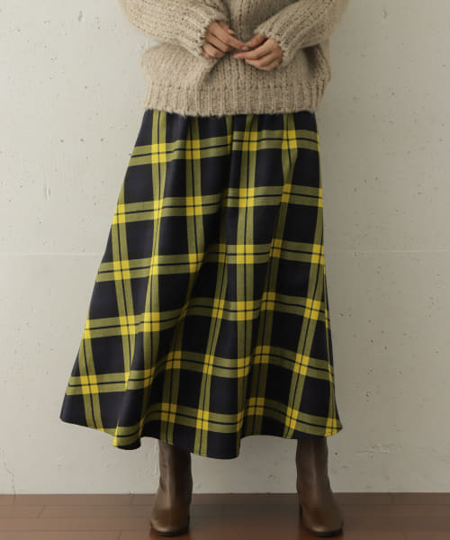 [DOORS][【別注】O'NEIL OF DUBLIN×DOORS WOOL SWING SKIRT]