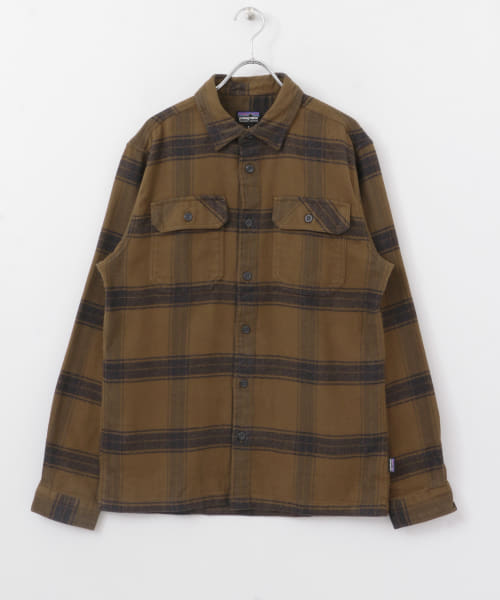 [DOORS][patagonia Ms Long-Sleeve Fjord Flannel Shirts]