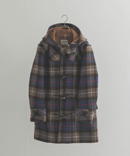 [URBAN RESEARCH][【別注】LONDON TRADITION×UR CHECK DUFFLE COAT]