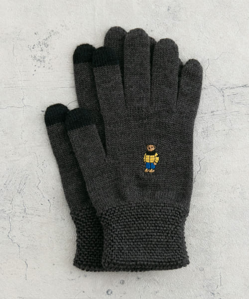[URBAN RESEARCH][【別注】URBAN RESEARCH iD ROSTER BEAR GLOVES]