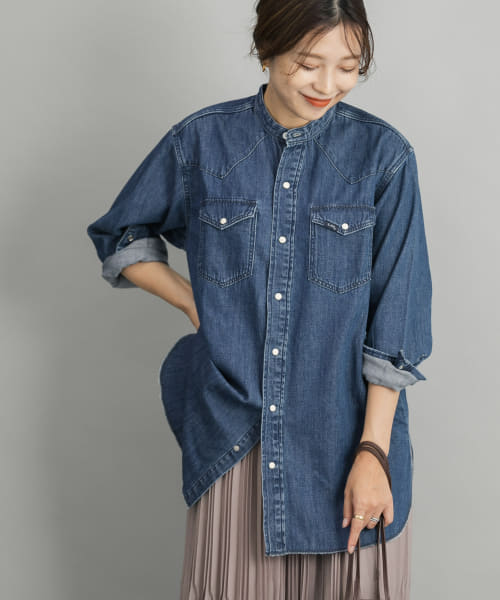 [ROSSO][【別注】ROSSO×Lee WESTERN DENIM SHIRTS]