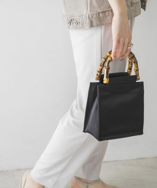 [URBAN RESEARCH][Hai Black Bamboo Bag]