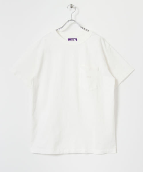 [URBS][THE NORTH FACE PURPLE LABEL 7oz H/S Pocket Tee]