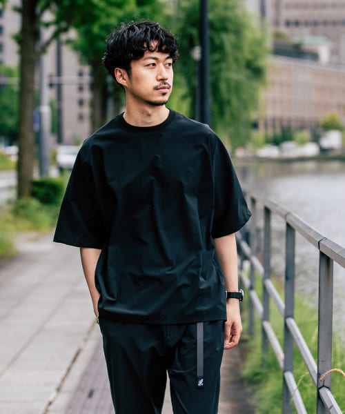 [URBAN RESEARCH][SOLOTEX SHORT-SLEEVE TEE]