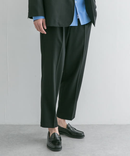 [URBAN RESEARCH][WOOL STRETCH COMFORT PANTS]