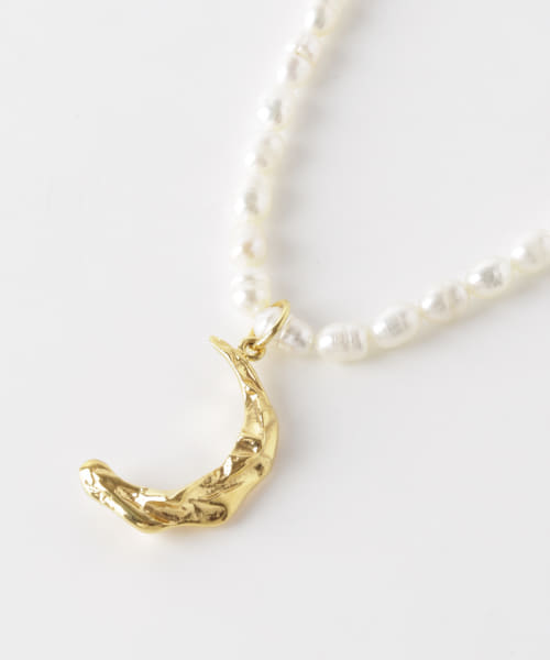 [URBAN RESEARCH][HERMINA ATHENS MELIES PEARL NECKLACE]