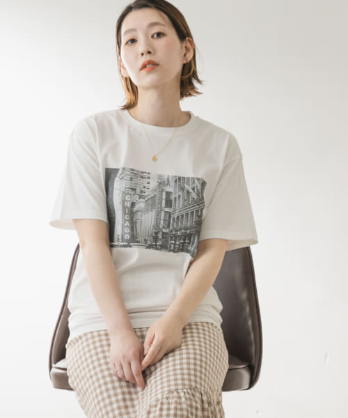 [ROSSO][F by ROSSO CHICAGOフォトTシャツ]