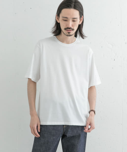 [URBAN RESEARCH][SUVIN COTTON SHORT-SLEEVE T-SHIRTS]