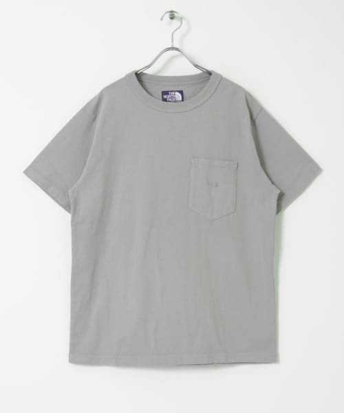 [URBAN RESEARCH][THE NORTH FACE PURPLE LABEL 7OZ H/S POCKET T-SHIRT]