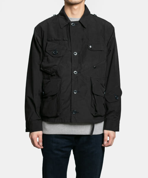 South 2 West 8 Tenkara Shirt - Wax Coating DI782-BSM87: Navy
