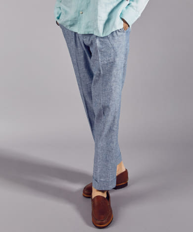 FSC JP CL CHAMBRAY BASIC TROUSER