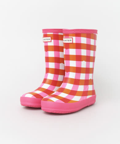 HUNTER KIDS FIRST GINGHAM(KIDS)