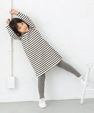 FORK&SPOON Color Border ONE-PIECE(KIDS)