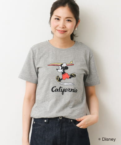 California Mickey Tシャツ