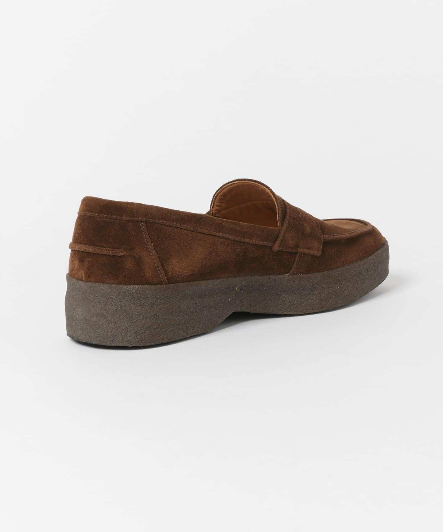 Urban Research Doors Mud Guard Butt Seam Loafer 2109-DM96: Polo Snuff Suede