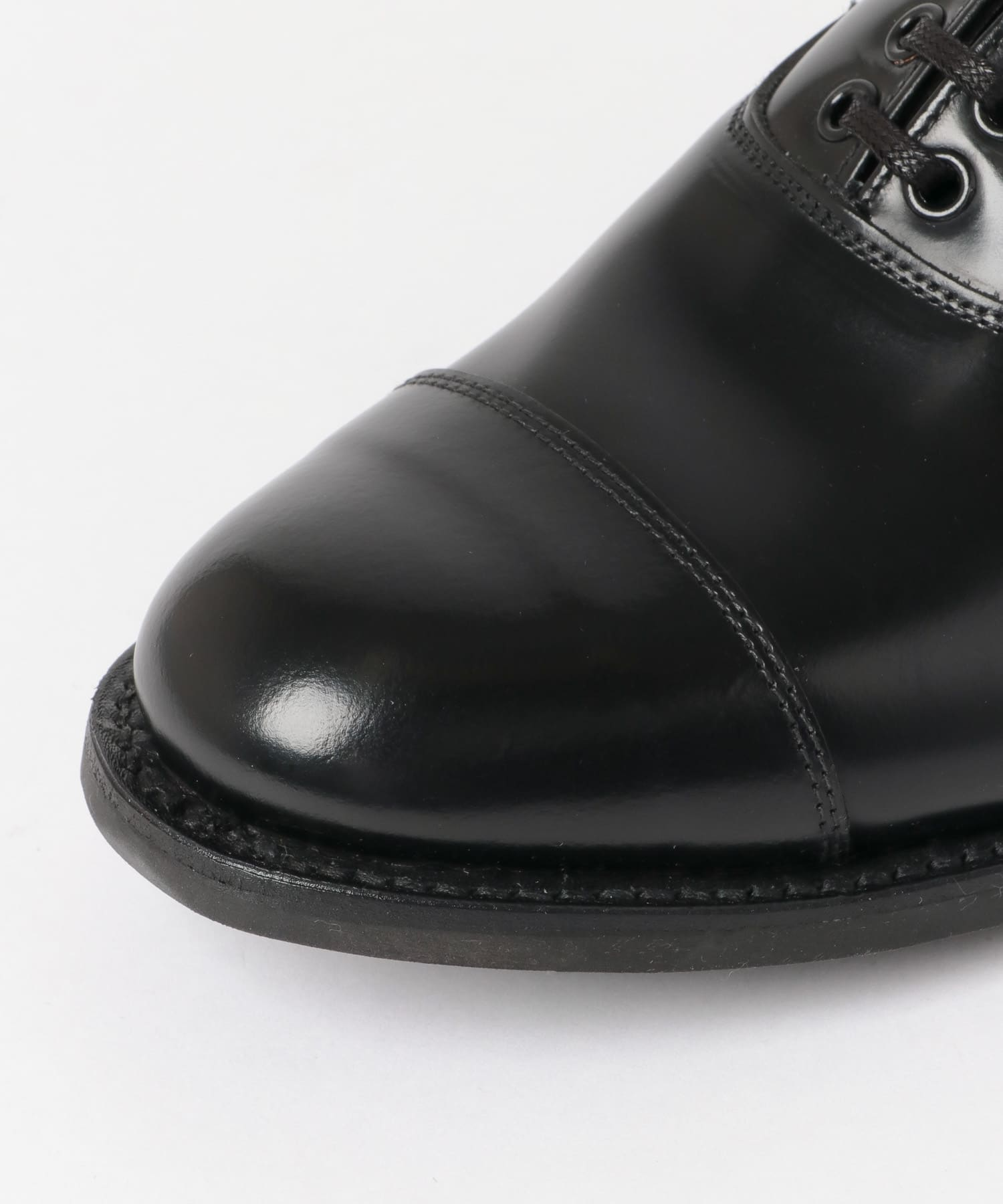Freemans Sporting Club Military Cap Toe Oxford 2131-UF96: Black