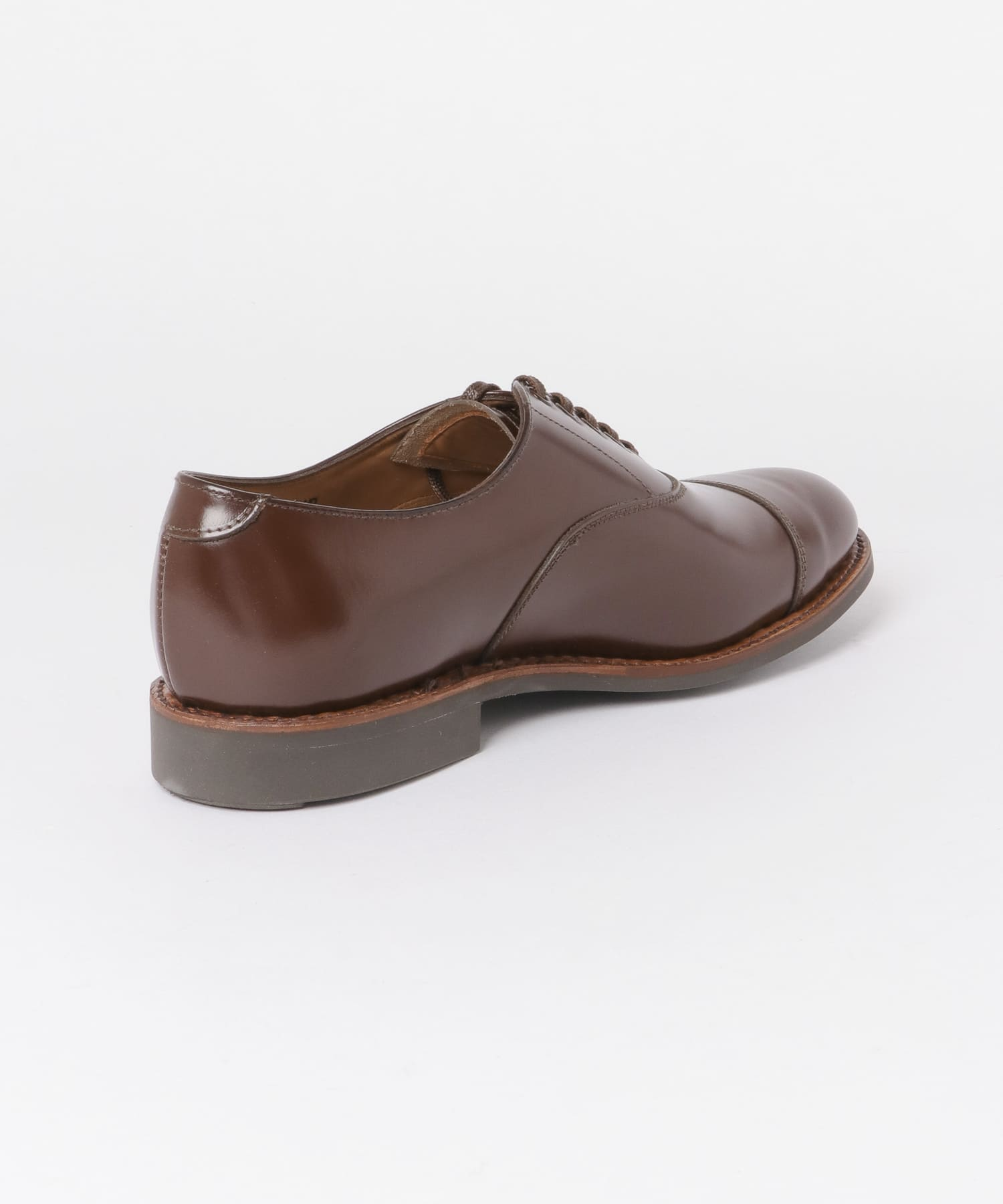 Freemans Sporting Club Military Cap Toe Oxford 2131-UF96: Rich Tan