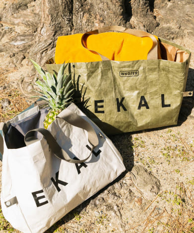 【別注】 WEEKEND(ER)×EKAL GROCERY COOL BAG